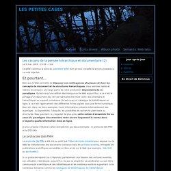 Les carcans de la pensée hiérarchique et documentaire (2)