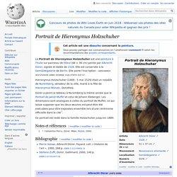 Portrait de Hieronymus Holzschuher