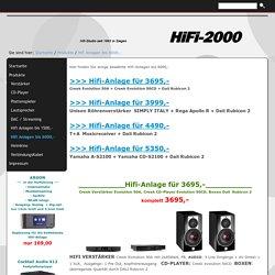 Hifi Anlagen bis 6000,-