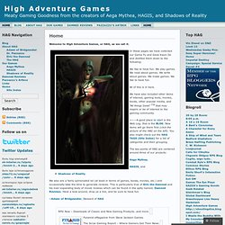 High Adventure Games