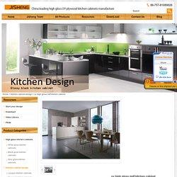 uv high gloss mdf kitchen cabinet