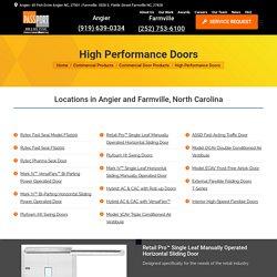 High Performance Doors