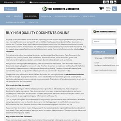 Buy Real Documents Online now
