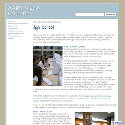 High School - AAPS Media Centers