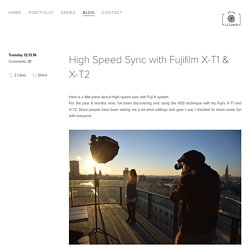 High Speed Sync with Fujifilm X-T1 & X-T2 — Lilutch