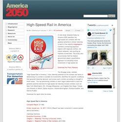 High-Speed Rail in America - America 2050