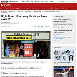 High Street: Five ways UK shopping has changed - BBC News