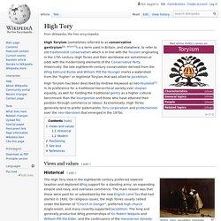 High Tory