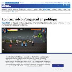 High-tech: Les jeux vidéo s'engagent en politique - News High-Tech: Jeux