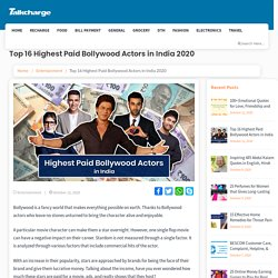 Highest Paid Bollywood Actors in India 2020: Updated List