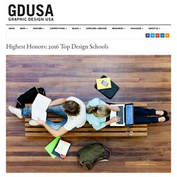 Highest Honors: 2016 Top Design Schools – Graphic Design USA