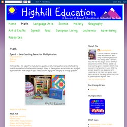 Highhill Homeschool: Math