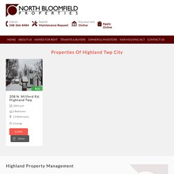 Highland Property Management & Rental Property Management Companies in Highland