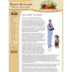 Hudson Highlands Veterinary Medical Group - News Alerts and Events