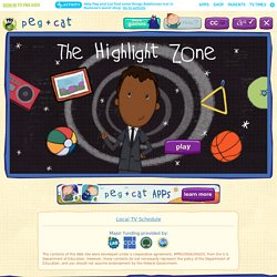 Highlight Zone . Games . peg + cat