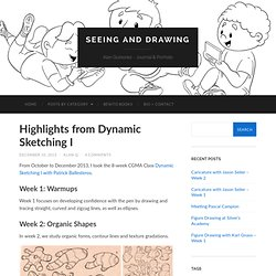 Highlights from Dynamic Sketching I