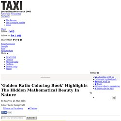 'Golden Ratio Coloring Book' Highlights The Hidden Mathematical Beauty In Nature