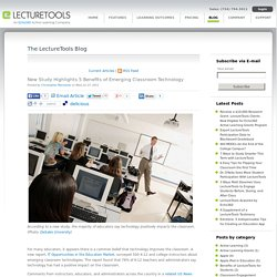 New Study Highlights 5 Benefits of Emerging Classroom Technology