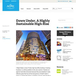 Down Under Highly Sustainable HighRise
