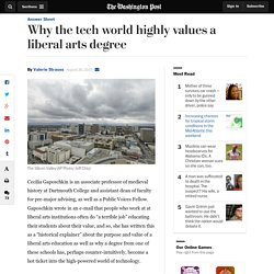 Why the tech world highly values a liberal arts degree