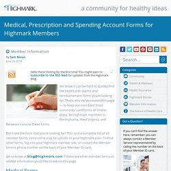 PDF Forms for Highmark Members