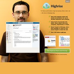 Highrise: Latest Activity