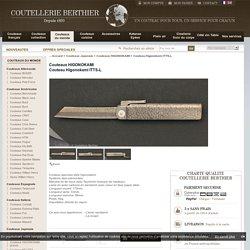 Couteau Higonokami ITTS-L - Couteau - couteaux-berthier
