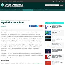 HijackThis Completo