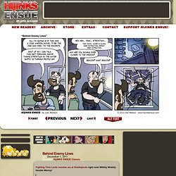 HijiNKS ENSUE – A Geek Webcomic - Behind Enemy Lines