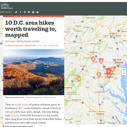 10 D.C. area hikes worth traveling to, mapped