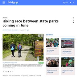 Hiking race between state parks coming in June