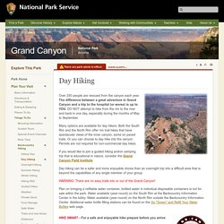 Day Hiking - Grand Canyon National Park