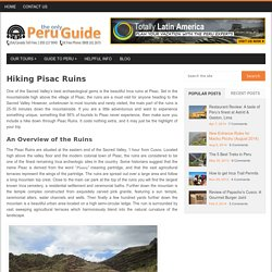 Hiking Pisac Ruins - the Only Peru Guide