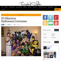 25 Hilarious Halloween Costumes - StumbleUpon