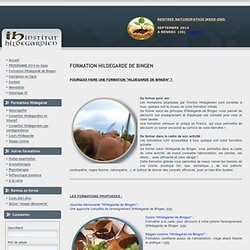 Institut Hildegardien - Formation Hildegarde de Bingen
