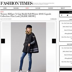 Tommy Hilfiger X Gigi Hadid Fall/Winter 2016 Capsule Collection: First Look [SLIDE SHOW]