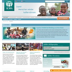 Internationale Hilfsorganisation Entwicklungshilfe Soforthilfe Katastrophenhilfe