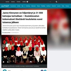 Janne Kinnunen on hiljentänyt jo 31 000 katsojaa tarinallaan – Koulukiusatun kokemukset itkettävät koululaisia vuosi toisensa jälkeen