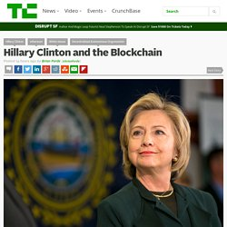 Hillary Clinton and the Blockchain
