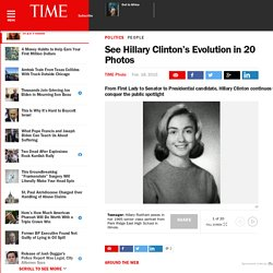 See Hillary Clinton's Evolution in 20 Photos