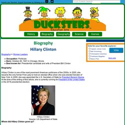 Hillary Clinton for Kids