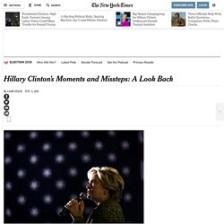Hillary Clinton's Moments and Missteps: A Look Back