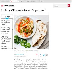 Hillary Clinton's Secret Superfood