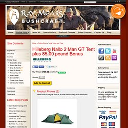 Hilleberg Nallo 2 GT Tent plus 75.00 pound Bonus, Tents