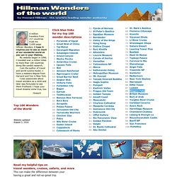 Top 100 Hillman Wonders of the World - Rankings you can trust