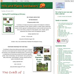 Hills and Plains Seedsavers
