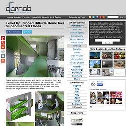 Level Up: Sloped Hillside Home has Super-Slanted Floors