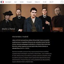 Hilsneriáda v hodině — Zločin v Polné