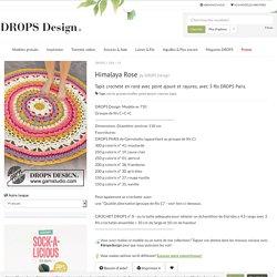 Himalaya Rose / DROPS 189-10 - Modèles crochet gratuits de DROPS Design