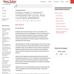 Edible Insect Market Hindered By Legal And Cultural Barriers